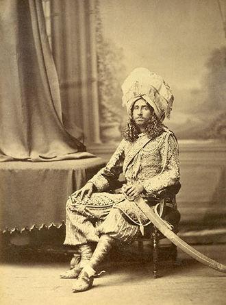 Bahawalpur (princely state) - The Nawab Muhammad Bahawal Khan Abbasi V Bahadur of Bahawalpur (1883–1907).