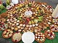 Bhog,decorated sweets and food in Shakta rash 3.jpg
