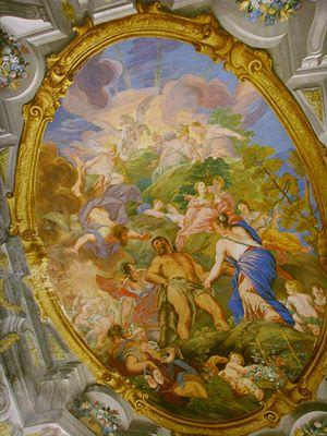 Biblioteca Riccardiana - Image: Biblioteca Riccardiana, altri affreschi