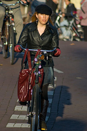 Bicyclists of Amsterdam 1 (Set)