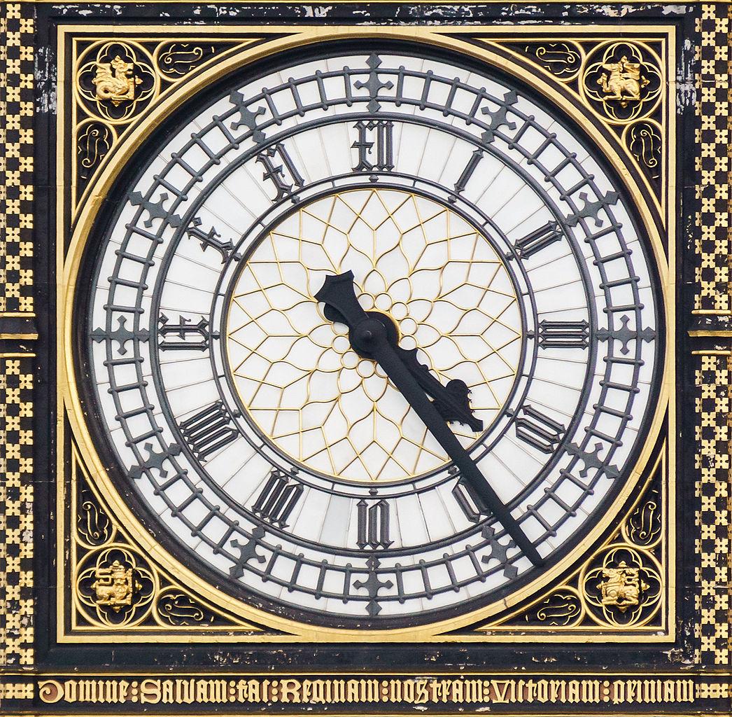 Filebig Ben Clock Facejpg Wikimedia Commons