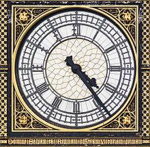 London Clock Peter Pan