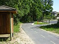 Bike trail and new bulletin board at Chaffin Court - panoramio.jpg