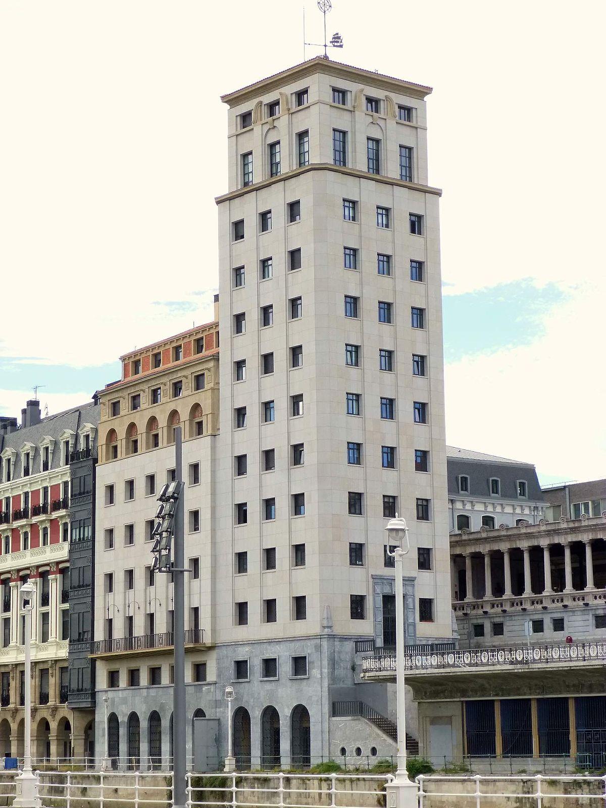 Rascacielos de bail n wikipedia la enciclopedia libre - Arquitectos en bilbao ...
