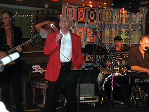 Billy Lee Riley - Riley at the Memphis Music Festival, 2008