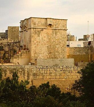 Birkirkara Tower - View of Birkirkara Tower