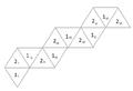 Blattbündelorientierte Netzbeschriftung eines Tetrahexaflexagons.png