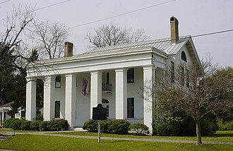 National Register of Historic Places listings in Marengo County, Alabama - Image: Bluff Hall Color