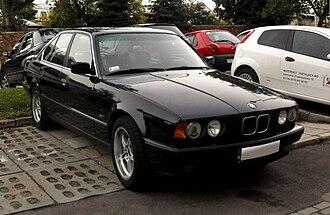 Ercole Spada - BMW 5 Series (E34)