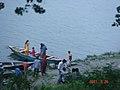 Boat ride in Brahmaputra river Mymensingh.jpg