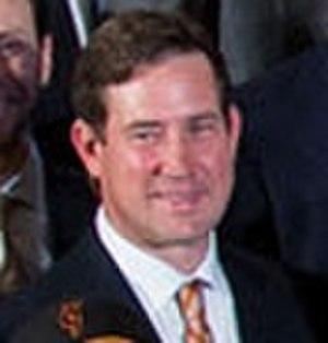 Bobby Evans (baseball) - Evans at the White House in 2015.