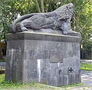 Das Löwendenkmal Bochum