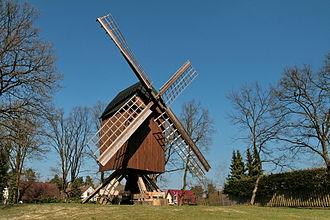 Winsen an der Aller - Image: Bockwindmühle Winsen (Aller) IMG 5969