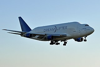 Boeing Dreamlifter Outsize cargo conversion of the 747-400