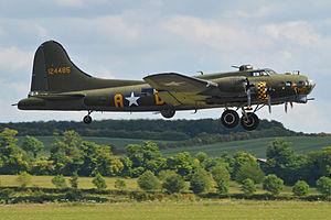 "Memphis Belle (film) - B-17G ""Sally B""."