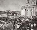 Boldyrev, I. - Jahrmarkt an einem Feiertag in der Kosakensiedlung Zymljanski (Zeno Fotografie).jpg