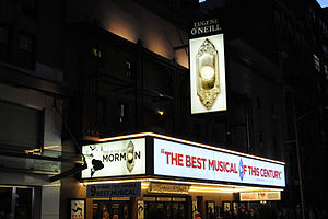 The Book of Mormon (musical) - The Eugene O'Neill Theatre several months after the musical's launch.