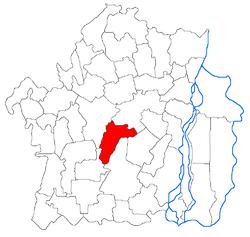 Vị trí của Bordei Verde
