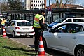 Border control checkpoint at Europe bridge German side 2020-03-16 15.jpg
