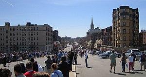 Boston marathon mile 25 050418 cropped