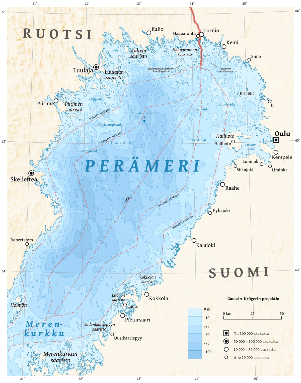 Itämeri Syvyys