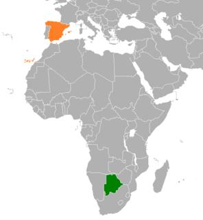 Botswana–Spain relations