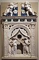 Bottega dei della robbia, cornice di tabernacolo eucaristico, 1501-25 ca.jpg