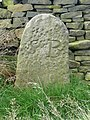 Boundary stone, Sowerby - geograph.org.uk - 987046.jpg