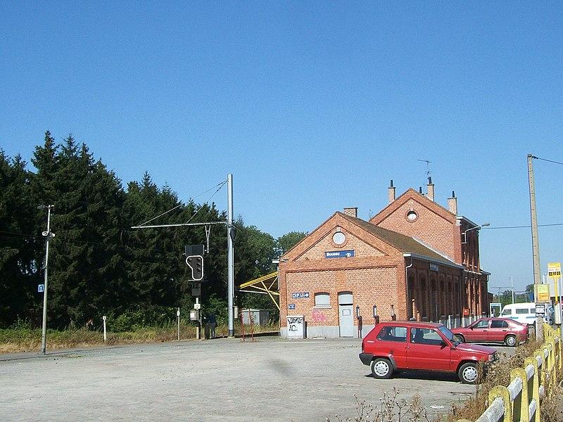 Boussu Railway Station, Belgium