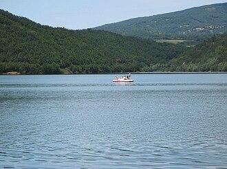 Aleksinac - Image: Bovansko jezero 2