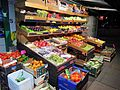 Boxes of green grocery on The Roundway Tottenham London England.jpg