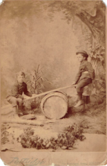 Boys on seesaw by Partridge of Boston USA.png