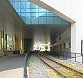 Brain and Cognitive Sciences building (MIT Building 46) railroad tunnel, 42 Vassar Street, Cambridge, Massachusetts.jpg