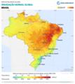 Brazil GHI Solar-resource-map lang-PT GlobalSolarAtlas World-Bank-Esmap-Solargis.png