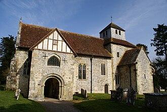 Breamore - Image: Breamore Church