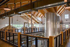 Breckenridge Brewery - Interior of Breckenridge Brewery in Colorado in 2015.