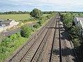 Brent Knoll railway station (site), Somerset (geograph 5454675).jpg
