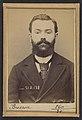 Bresson. Eugène, Marie. 30 ans, né le 4-7-63 à Chaumont (Haute-Marne). Avocat. Anarchiste. 20-1-94. MET DP290238.jpg