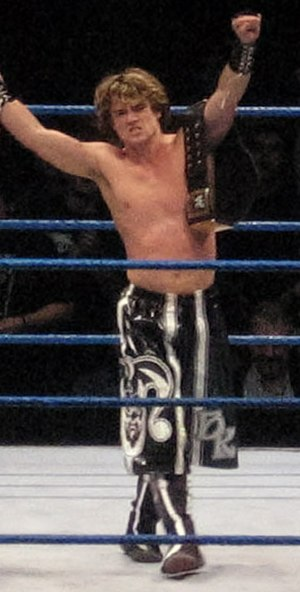 Brian Kendrick - Kendrick as WWE Tag Team Champion in December 2006
