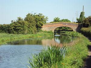 Stoak - Image: Bridge 139 (Meadow Lane Bridge), Shropshire Union Canal, Cheshire DSC06303