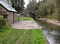 Bridge by Canal Cottage - geograph.org.uk - 738042.jpg