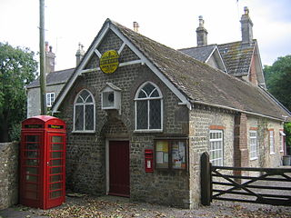 Brixton Deverill village in the United Kingdom