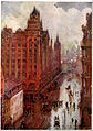 Broad Street Station, Philadelphia, in the Rain, by Colin Campbell Cooper.jpg