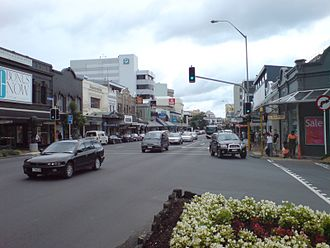 Newmarket, New Zealand - Broadway, the main street of Newmarket.