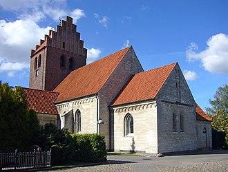 Brønshøj Church - Image: Broenshoej Kirke Denmark