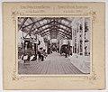 Bronisław Wilkoszewski, Pierwsza Wystawa Przemysłowa w m. Łodzi 1895 r. – wnętrze pawilonu, 2.jpg