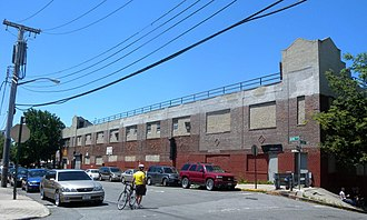 Wakefield, Bronx - Factory building on Bronx Boulevard