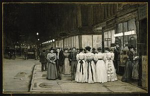 William Anderson Coffin - Image: Brooklyn Museum Saturday Night in August Eighth Avenue William Anderson Coffin overall