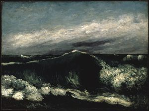 Breezing Up (A Fair Wind) - Image: Brooklyn Museum The Wave (La Vague) Gustave Courbet