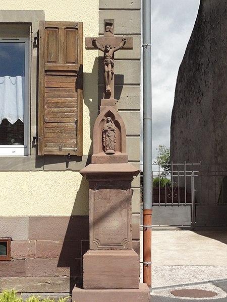Brouviller (Moselle) croix